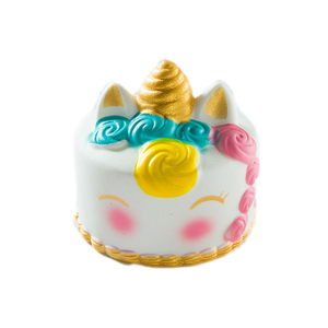 Image 2 - Jouet gâteau gâteau en forme de cerf coloré anti stress, lent à monter, jouet anti stress, jouet à presser pour enfants, garçons, filles et adultes