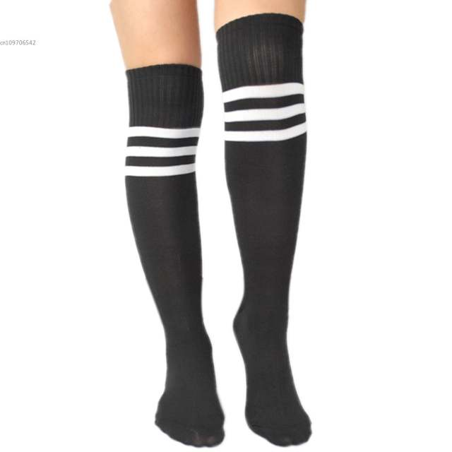 6f4890164 placeholder Cotton Women's Girl's Winter Warm Socks Knee Socks Over Knee  Stocking Knee High ...