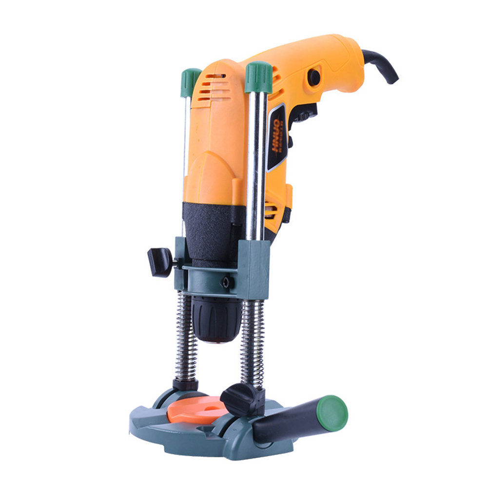 Multifunctional Hand Drill Stand With Adjustable Angle Professional Home Woodworking Power Tools Accessories Holder Drilling