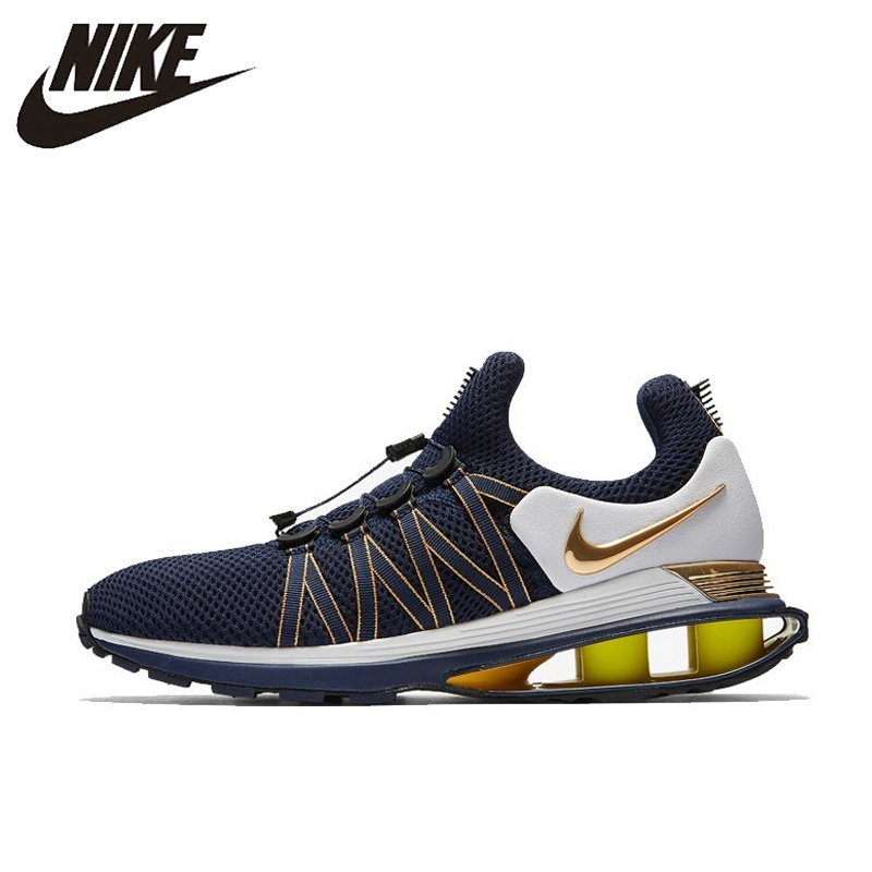 pick up 42ad1 d30ba NIKE SHOX GRAVITY Original New Arrival Running Shoes Breathable Comfortable  For Men and Women Sneakers  AR1999 400-in Running Shoes from Sports ...