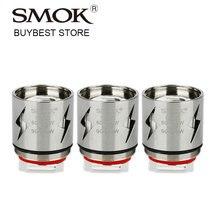 Original 3 pcs SMOK V12-Q4 Coil  0.15ohm for TFV12 Tank V12 Q4 Coil Electronic Cigarette Atomizer Coil for tfv12 Wattage 90-190W