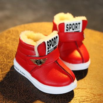 Childrens-Snow-Boots-Shoes-Top-Selling-Winter-Warm-Girls-Boys-Fashion-Boots-Flat-With-Size-22-26-Kids-Children-Baby-Boots-Shoes-2