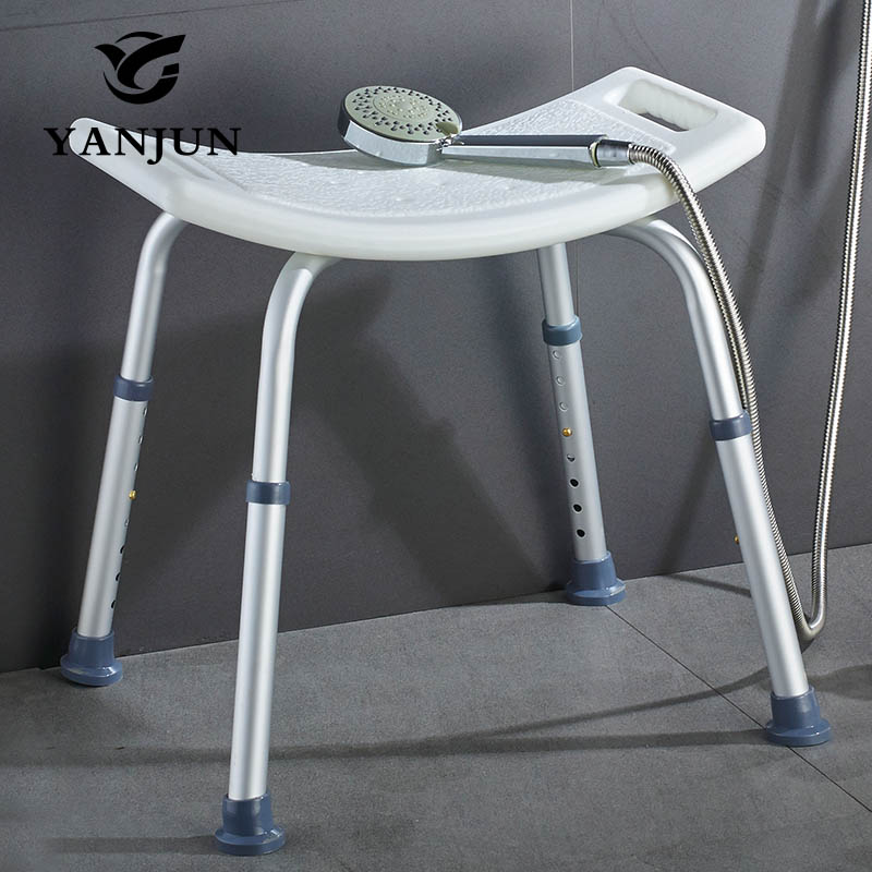 Grey Bathroom Safety Shower Tub Bench Chair Counter Step Stool Yellow Yanjun Adjustable Aluminium Height Bath And Seat Yj 2051a In Wall Mounted Seats From