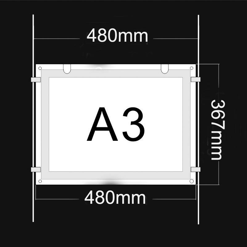 A3 led light panel