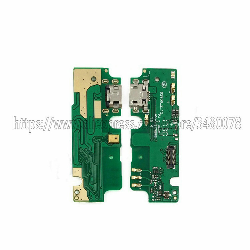 New Micro USB Charging Port Flex Ribbon For Lenovo K6 Note K6Note K53a48 Dock Charger Connector Plug Board With Microphone