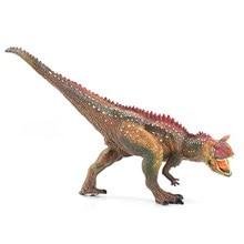 WAXSAM 2017 Dinosaur Carnotaurus Model Toys Action Figure Solid PVC Classic Toys Children Animals Models Jurassic