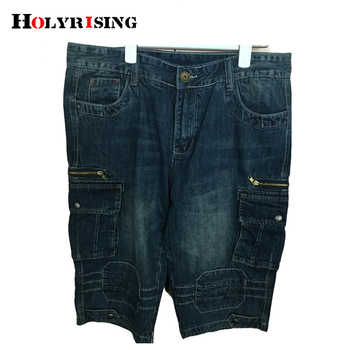 Hot sale Brand Short Jeans Men Denim Blue Boy\'s Short Cotton knees shorts Fashion Summer Men\'s Shorts fashion jean shorts 29-40