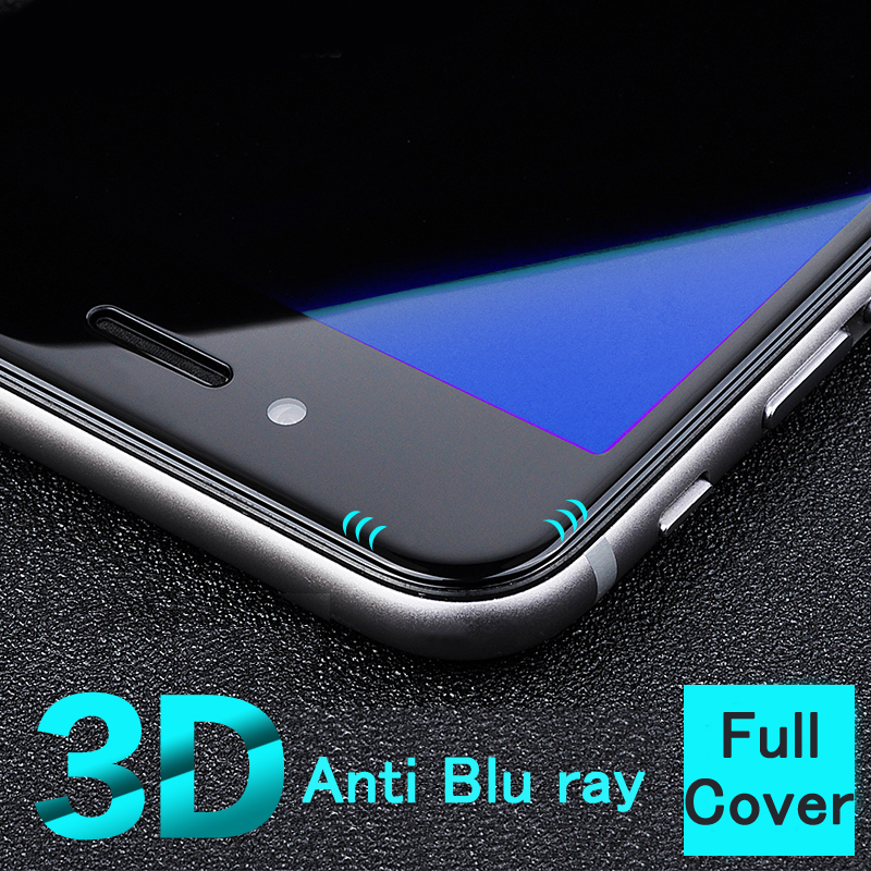 New best real 3D Curved full cover <font><b>Anti</b></font> <font><b>Blu</b></font> <font><b>ray</b></font> Blue Light eyes care <font><b>Tempered</b></font> <font><b>Glass</b></font> <font><b>Screen</b></font> Protector <font><b>film</b></font> <font><b>for</b></font> iphone 6 6s plus