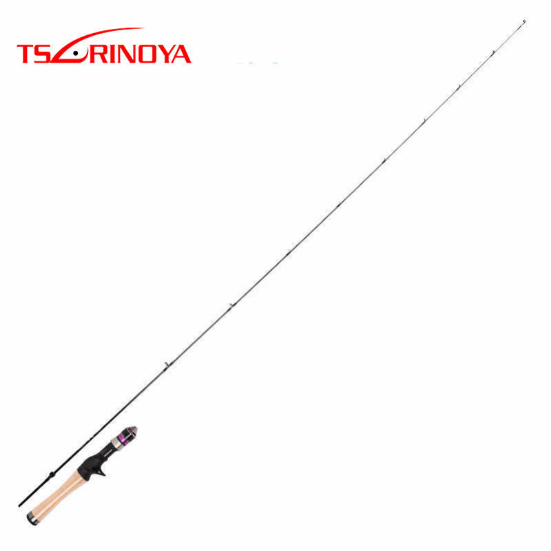 Trulinoya 1.68m UL Solid Tip Soft Cork Handle Casting Fishing Rod TORAY-24T Carbon FUJI Ring Rod Fishing Pole Vara De Pesca