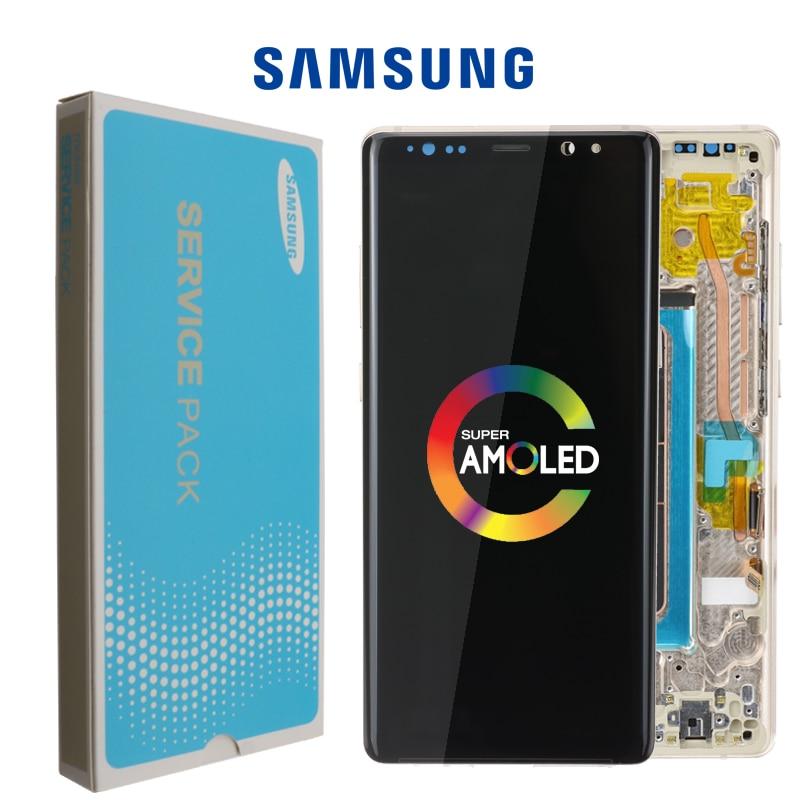 ORIGINAL 6 3 Display with Burn Shadow LCD for SAMSUNG Galaxy Note8 N9500 N950F N900D N900DS