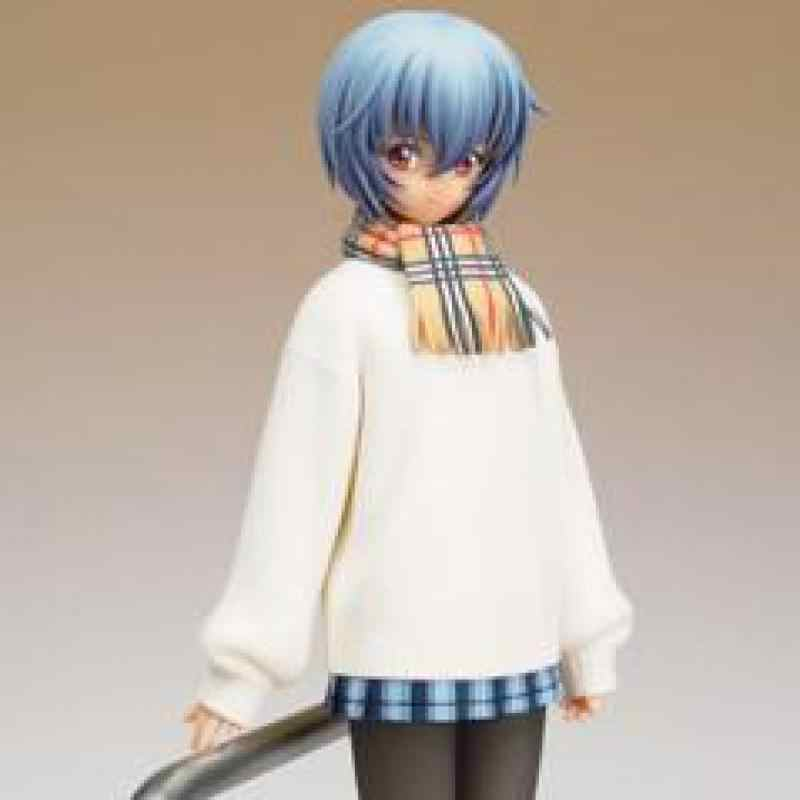 GK Garasi Resin Gambar 1/8 Ayanami Rei EVA Winter Ver. Dicat Model Kit