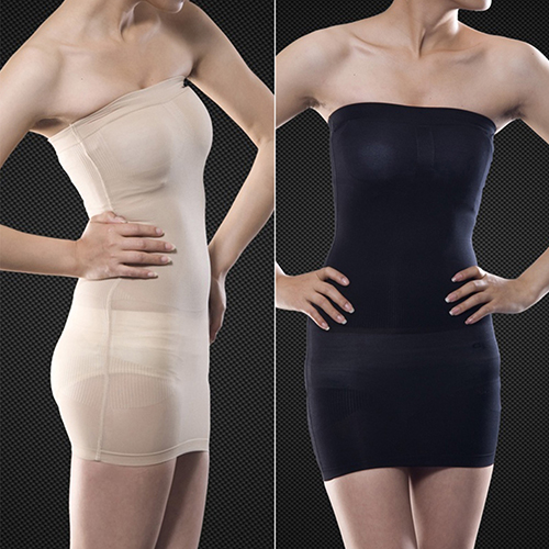 90ce56f038 New Arrival Hot Sexy Slimming Tube Top Stretch Strapless Tight Fitted Slim Body  Shaper Mini Dress