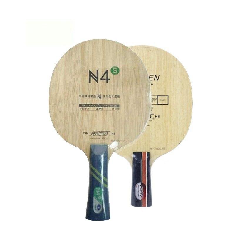 Yinhe N4S N-4 en bois N 4 N4 attaque + boucle hors lame de Tennis de Table pour raquette de ping-pong