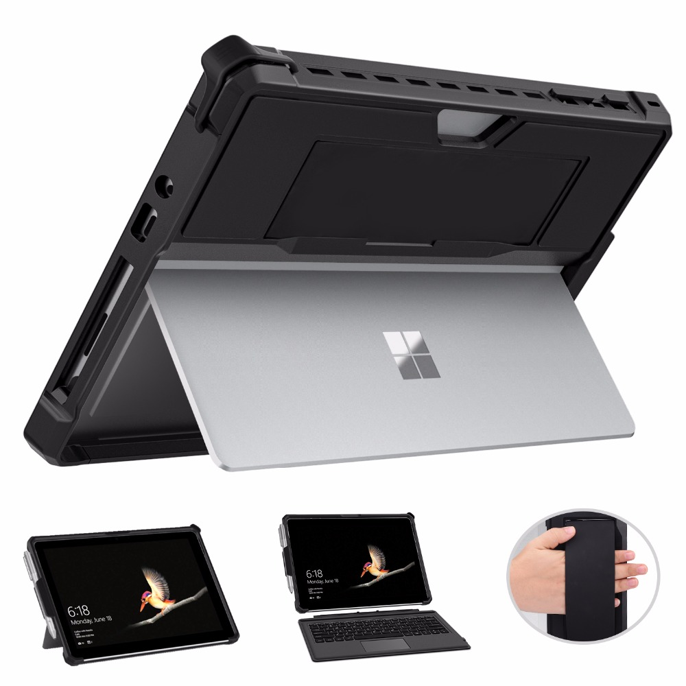 MoKo For Microsoft Surface All-in-One Protective Rugged Cover For Surface Go 10 Inch