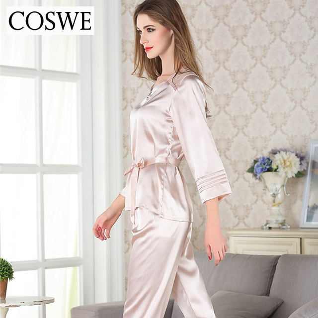Plus Size Sexy Women Sleep Clothing Lace Pajama Set For Female Casual Home wear Spring Brand Pajamas Sets