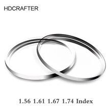 HDCRAFTER 1.56 1.74 Indice Asferico Progressive CYL Oltre 2.0 Lenti Da Vista Miopia Ipermetropia Lenti Ottico Su Misura