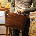 The new Korean male bag Vintage bag handbag briefcase men Ipad portable single shoulder bag