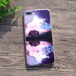 Soft Silicon Cover Case For Apple iPhone 8 7 7Plus 6 6S Plus 5S SE Cases iPhone X Shell Printing Sunrise Over The Sea Styles 3