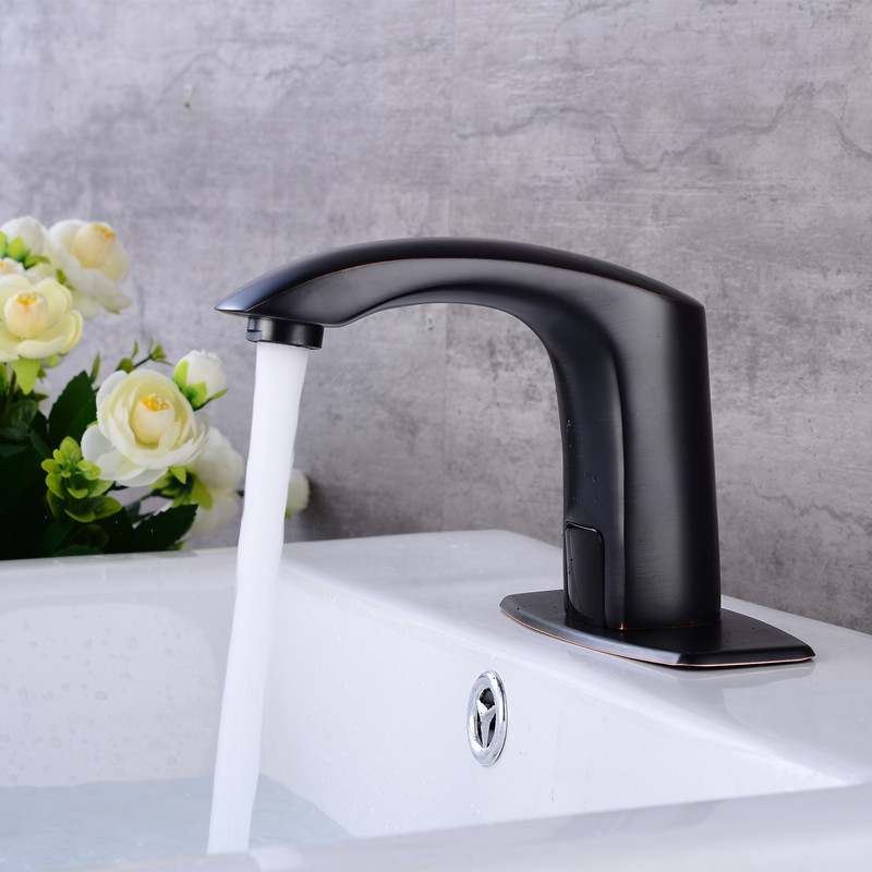 Vidric ORB Bathroom Automatic Touch Free Sensor Faucets Hot and Cold water saving Inductive electric Water Tap mixer DC6V&AC220VVidric ORB Bathroom Automatic Touch Free Sensor Faucets Hot and Cold water saving Inductive electric Water Tap mixer DC6V&AC220V