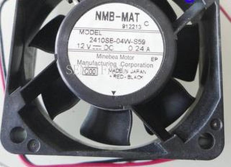 For NMB 6CM NMB 6025 12V 0.24A 2410SB-04W-S59 3WIRE Cooling Fan