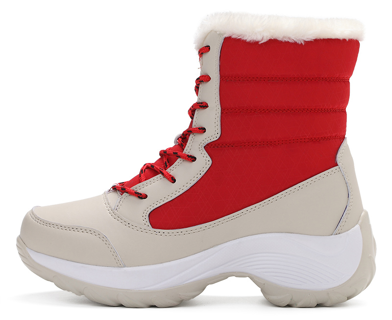 Women Snow Shoe Waterproof Thick Fur Warm Winter Boots