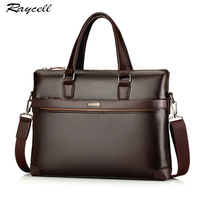 Genuine Leather Briefcase Bags Casual Men Business Cowhide Crossbody Bag Men Travel Bags Computer Laptop Laptop