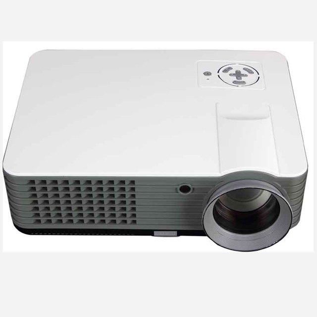 2017 Caliente-venta LLEVÓ el Proyector-Mowell MPJ801, de alta Precisión de Enfoque, 3D Cine Familiar, Super vida 50000 horas, rápido de DHL 8 días.