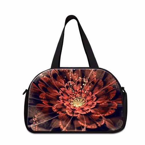 a8beaf47183 Dispalang Large Capacity Women Travel Bag Rose Pattern Cotton Trip Travel  Duffle Bag Luggage Handbags Female Smart Bag Bolsa