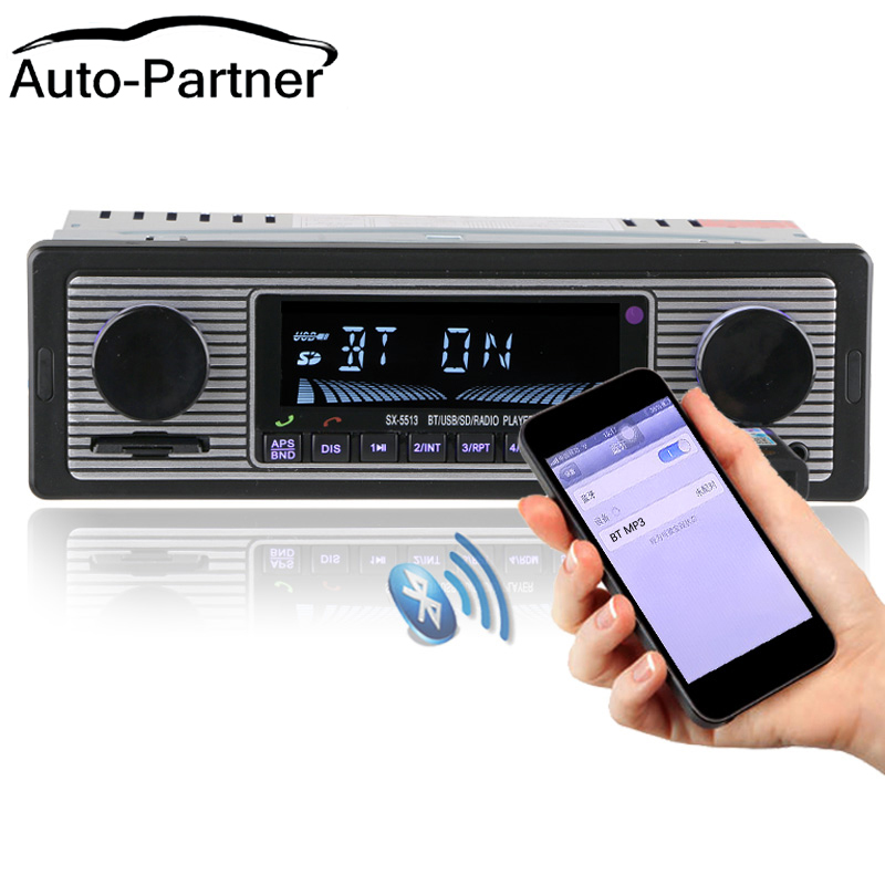 NIEUW 12V Autoradio Speler Bluetooth Stereo FM MP3 USB SD AUX Audio - Auto-elektronica