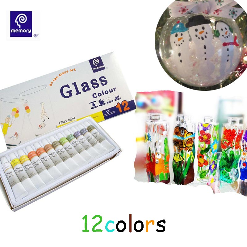 12 colors ceramic set diy water resistant tube acrylic for Acrylic paint water resistant