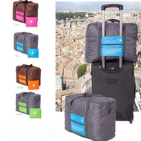 32L Foldable Super Lightweight Large Capacity Storage Luggage Bag For Travel Camping Or Gym Can Attach