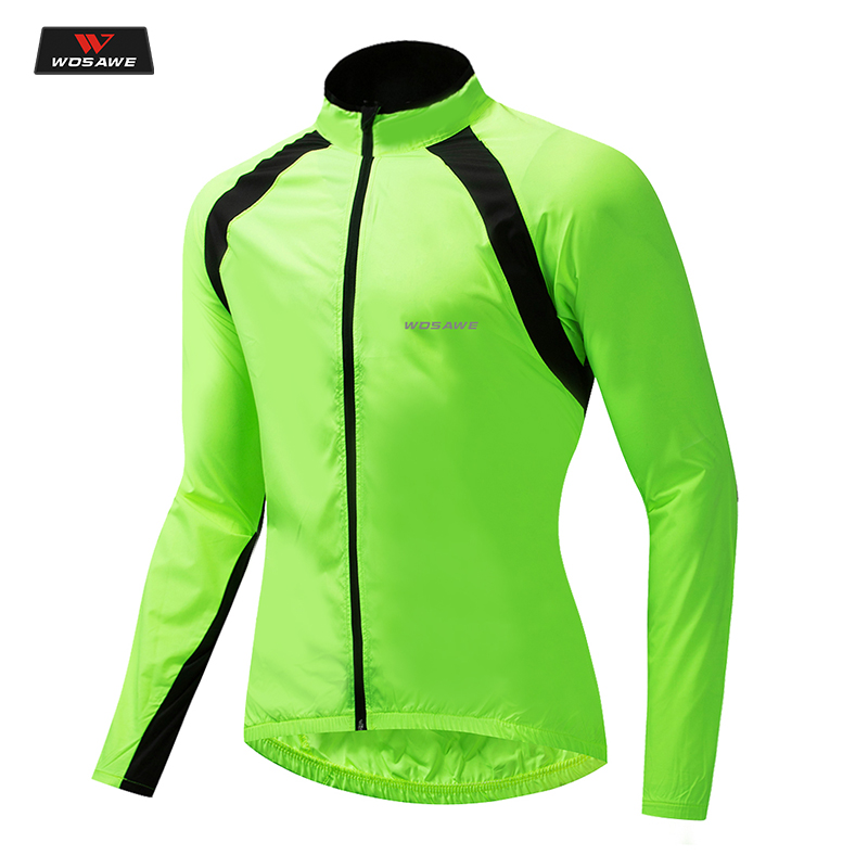 WOSAWE Motorcycle Windbreaker Jackets Jaqueta Moto Men Water Resistance Windproof Motocross Jackets MTB Bike Cycling Jacket