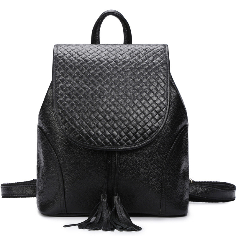 2017 NEW Fashion Backpack Women Backpack Genuine Leather School Bag Women Casual Style 2017 new women fashion backpack casual