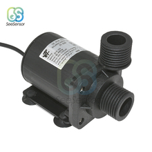 800L/H 5m DC 12V 24V Solar Brushless Motor Water Circulation Water Pump Submersibles Water Pumps 22W