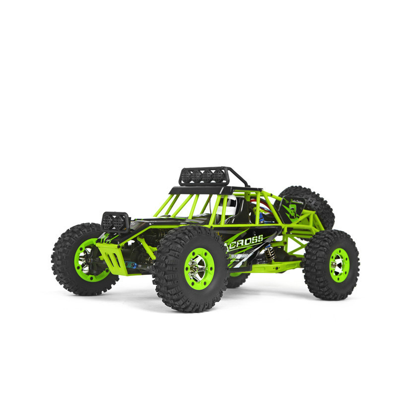 12428 RC Car 50KM/H 1:12 4 WD Crawler 2.4G High Speed RC Off-road Car With LED Light RTR wltoys 12428 12423 1 12 rc car spare parts 12428 0091 12428 0133 front rear diff gear differential gear complete