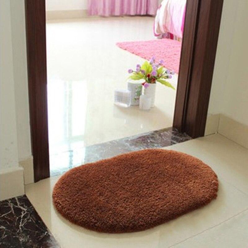 Slip Resistant Pad Room Oval Carpet Anti Static Memory