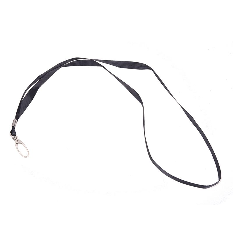 2 Pcs Black Nylon String Cord Keys Holding Lanyard 16.5