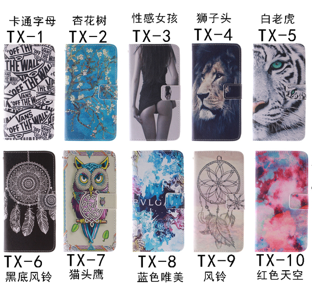 10 Fashion Patterns Flip Case for Apple iPhone 4 4S