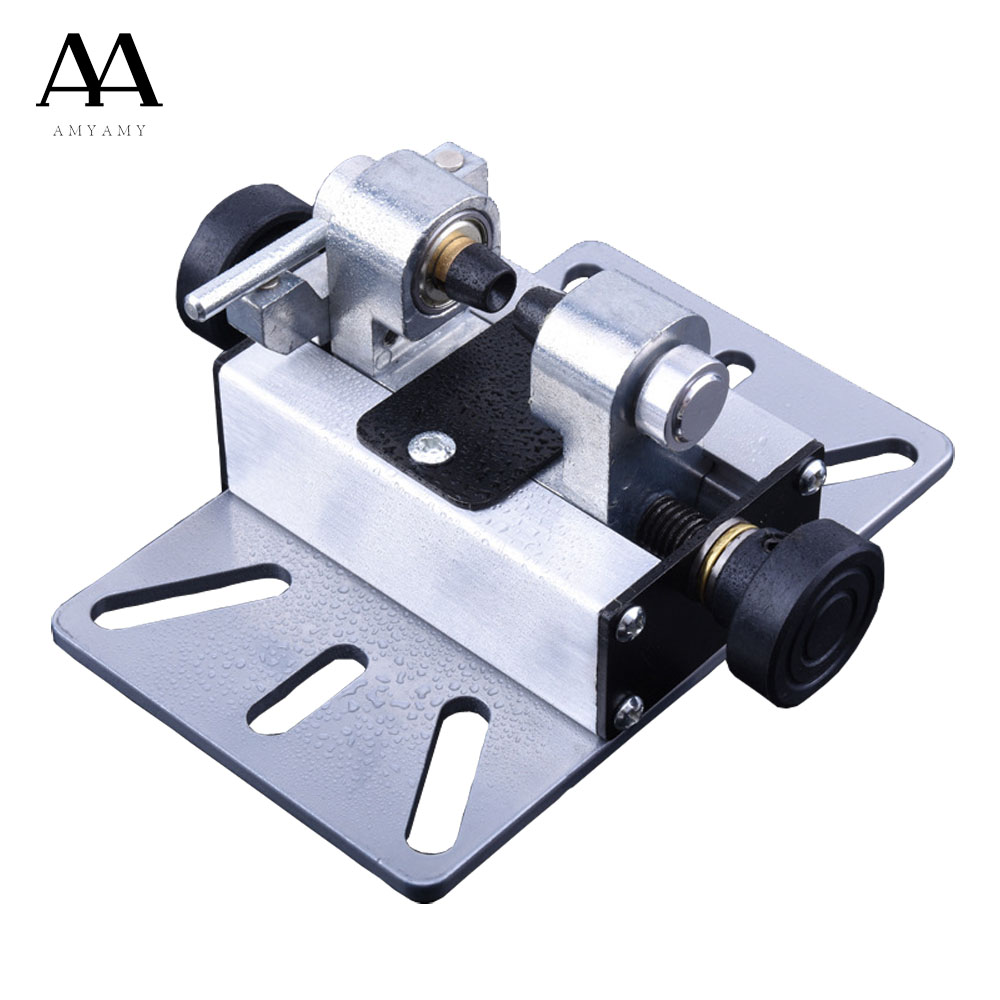 AMYAMY Universal Mini Drill Press Vise Clamp Table Bench Vice for Jewelry prayer beads On DIY Sculpture Craft Carving Bed Tool mini table vice adjustable max 37mm plastic screw bench vise for diy jewelry craft repair tools dremel power tools accessories