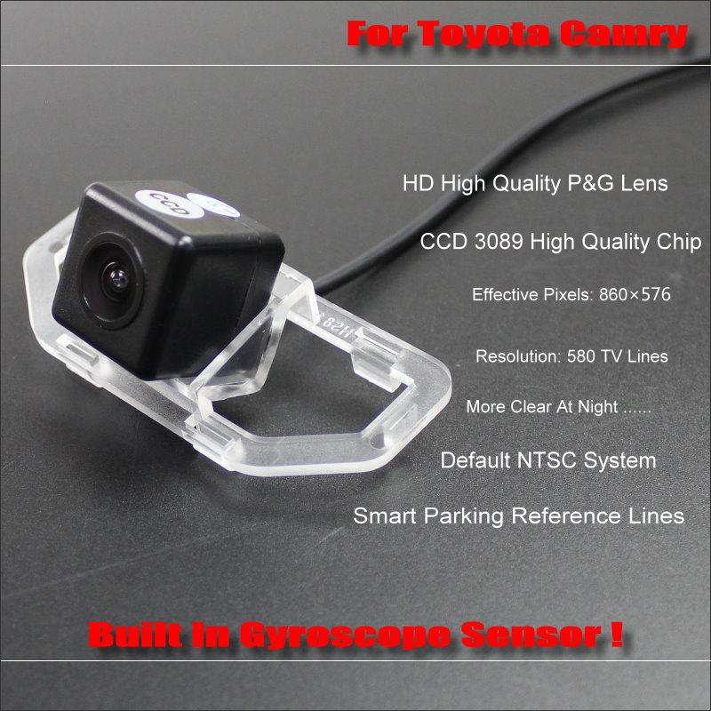 Intelligentized Reversing Camera For Toyota Camry Daihatsu Altis 2011 203 Rear View 580 TV Lines Dynamic Guidance Tracks in Vehicle Camera from Automobiles Motorcycles