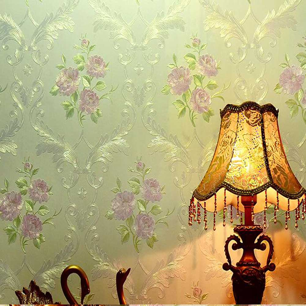 Europe Damask Wallpaper Murals Wall Paper Photo Mural Roll Bedroom ...