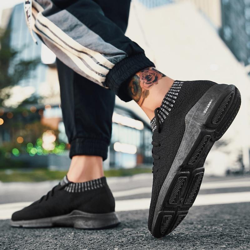 Léger Mode Sneakers Zeeohh Hommes Nouveau Respirant Automne Dentelle 2018 Confortable Appartements Casual Mesh Chaussures up Et 7pPB7q
