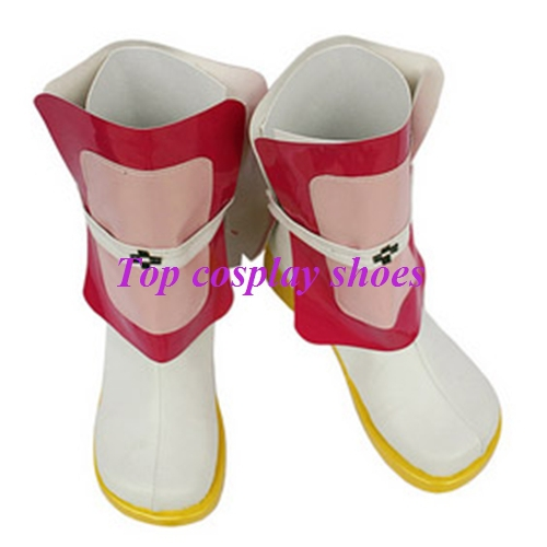 Freeshipping anime Magical Girl Lyrical Nanoha White and Pink Cosplay Boots  shoes custom made for Halloween Christmas-in Shoes from Novelty & Special  Use on ...