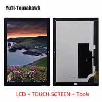 For Microsoft Surface Pro 3 1631 V1 1 LCD Touch Screen Combo Digitizer Assembly Free Tools