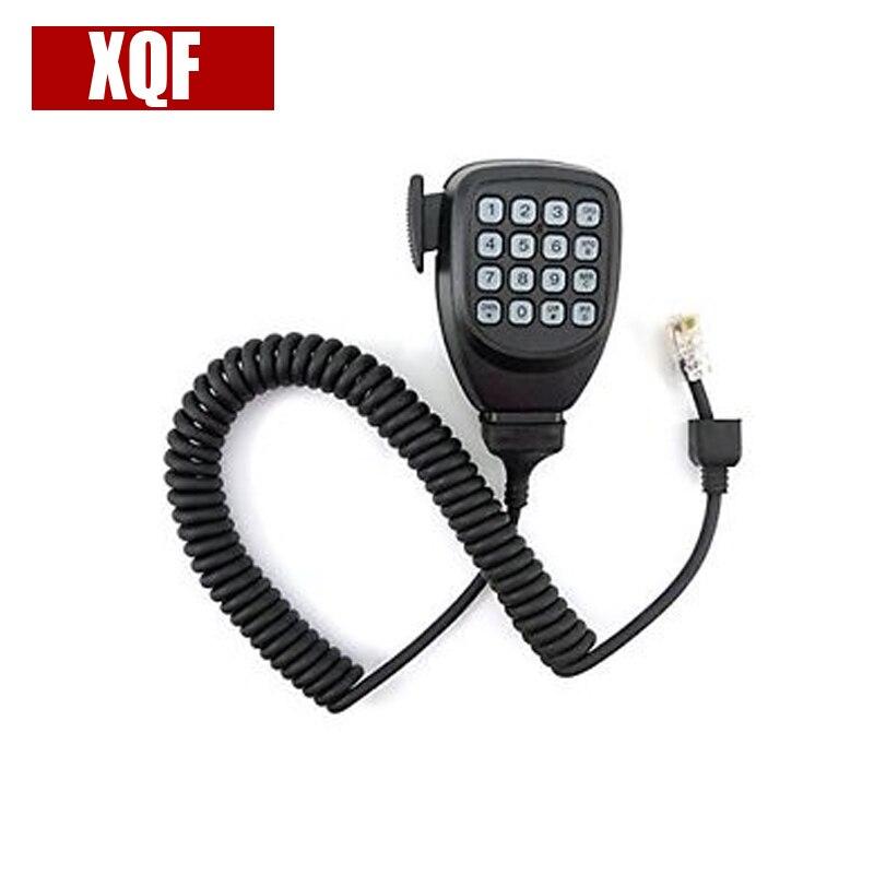 XQF DTMF 8pin Mikrofon Mic Lautsprecher Für Kenwood Radio TM-261 TM-271 TK-868G