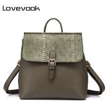 LOVEVOOK backpack women hand bag female mini backpack anti theft schoolbag ladies shoulder bag school back pack small tote 2019(China)