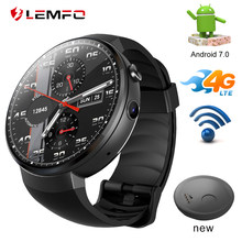 LEMFO LEM7 4G LET Smart Watch Android 7.0 Smartwatch with Sim Camera Translation tool Fitness Tracker Smartwatch Phone Men Women(China)