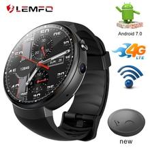 LEMFO LEM7 4G LET Smart Watch Android 7.1 Smartwatch with Sim Camera Translation tool Fitness Tracker Smartwatch Phone Men Women