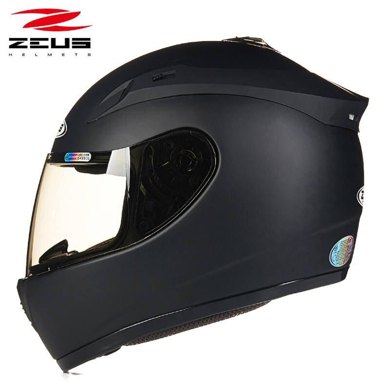 цена на New arrival full face motorcycle helmet man woman protective gear moto racing helmet Zeus 2000A urban motorbike helmets