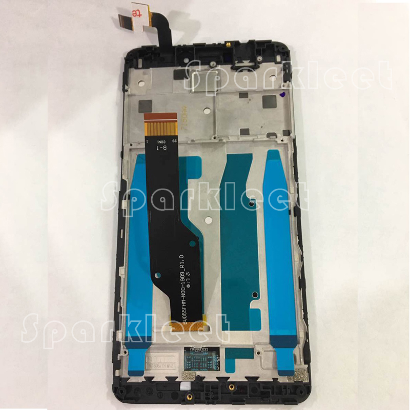 LCD Display with Frame Digitizer Touch Screen Assembly For Xiaomi Redmi Note 4X hongmi Red Rise